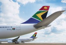 south african airways travel cargo