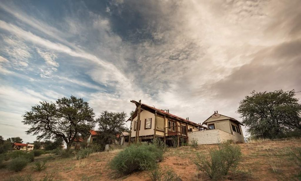 lodge kgalagadi park south africa
