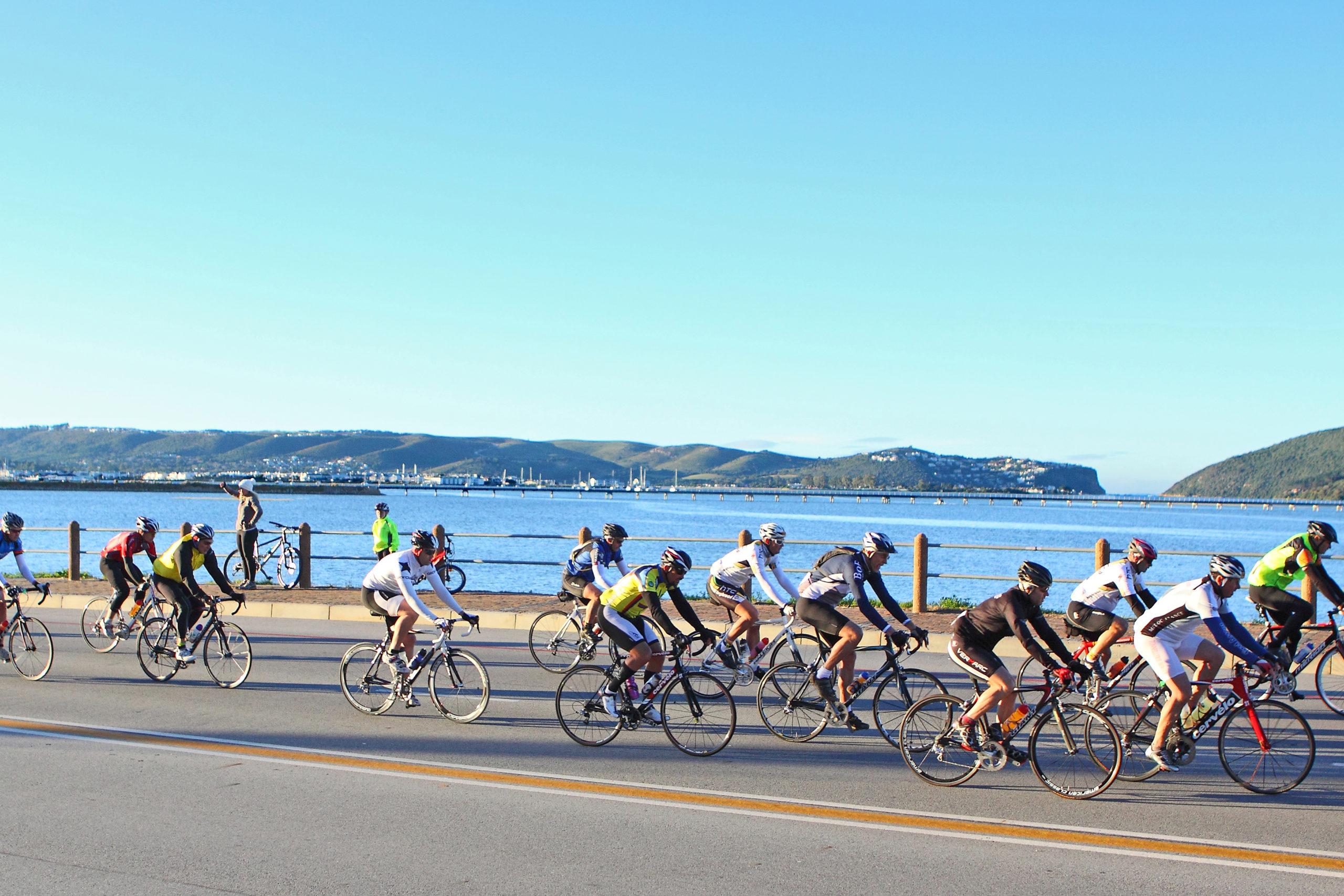 knysna oyster festival south africa travel  bike cycle