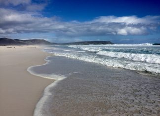 noordhoek beach cape town south africa travel