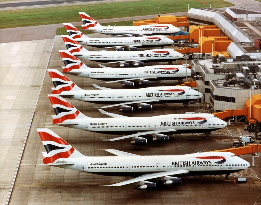 british airways 474