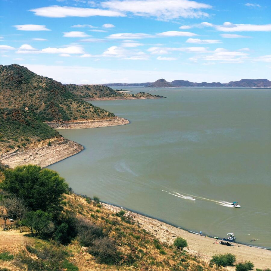gariep dam south africa travel