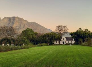 boschendal farm franschhoek south africa travel