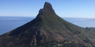 cape town lions head ted botha south africa travel hiker