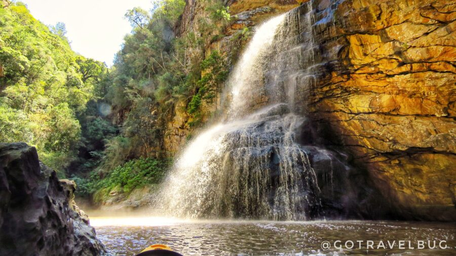 kaaimans waterfall garden route south africa