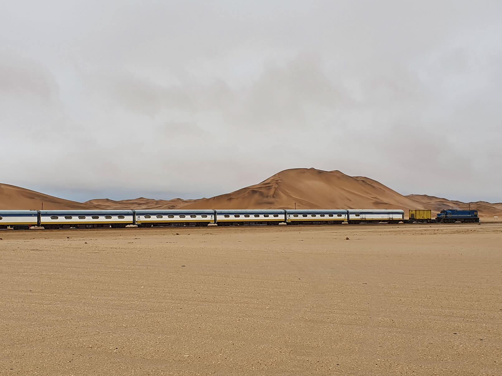 desert express train namibia travel