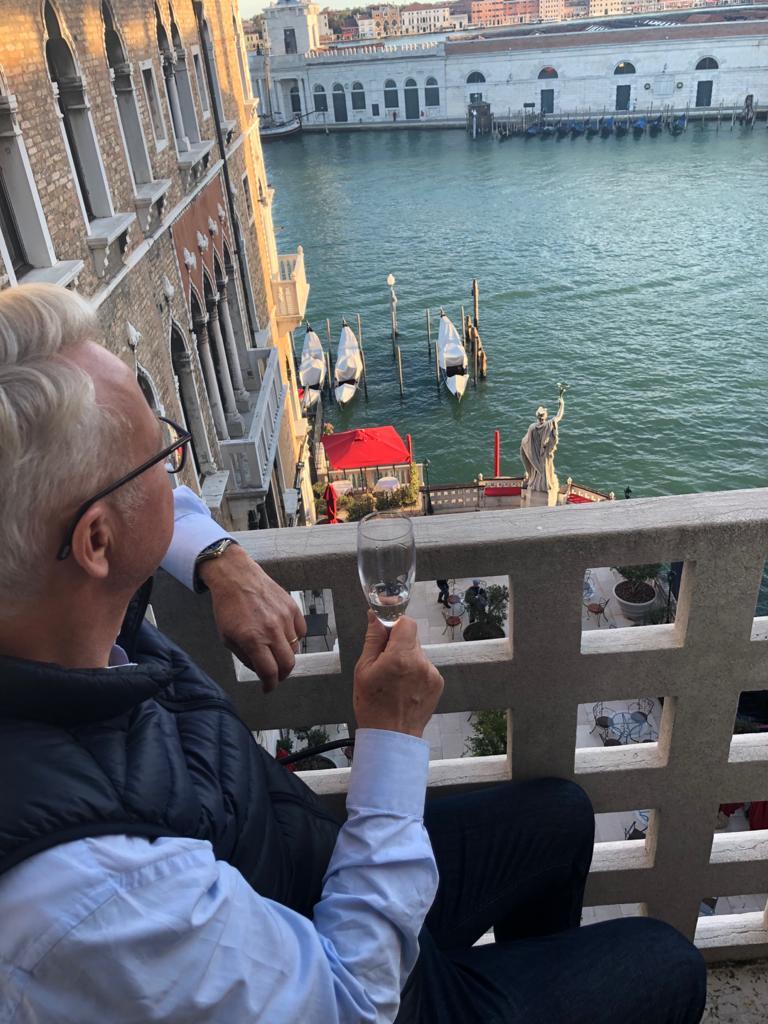venice hotel balcony view