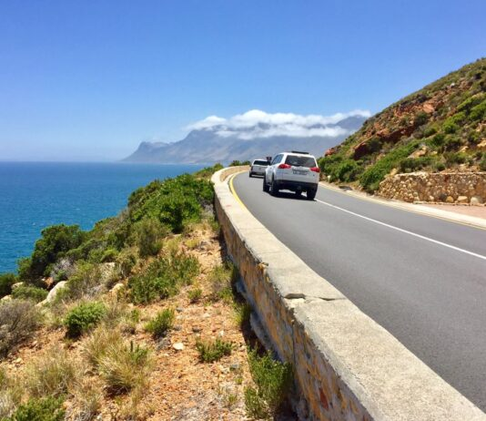 clarence drive false bay south africa great drives ted botha