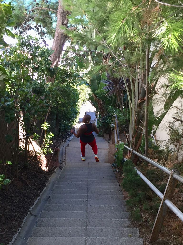 steps cape town travel exercise ted botha
